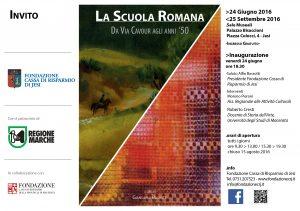 LA SCUOLA ROMANA Invito 16-05-16